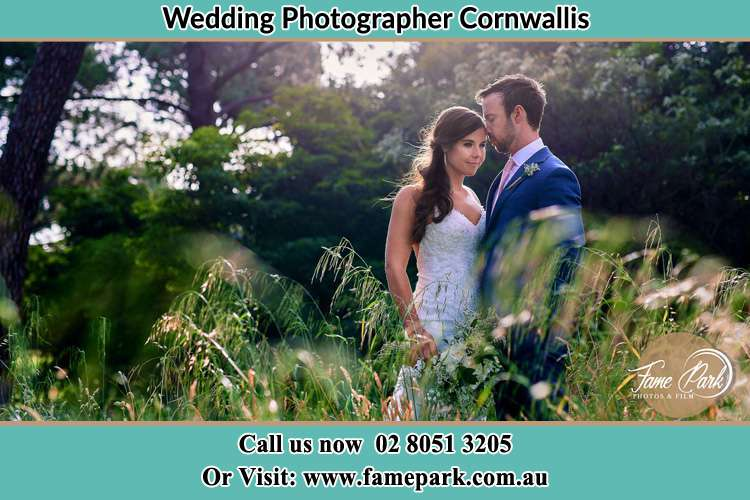 Photo of the Bride and the Groom Cornwallis NSW 2756