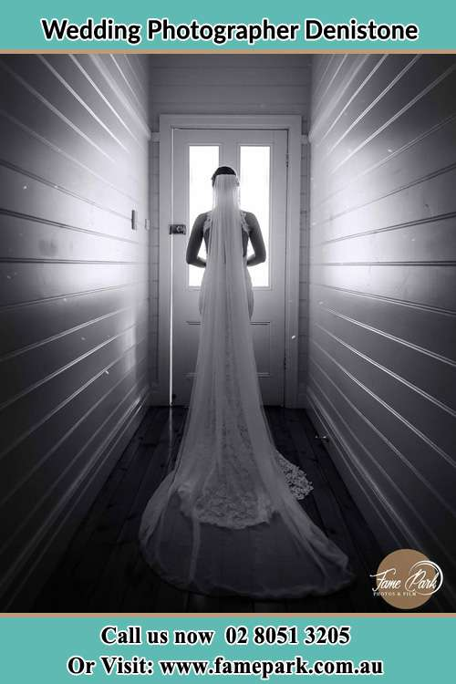 Photo of the Bride going out the door Denistone NSW 2114