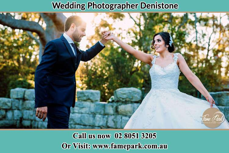 Photo of the Groom and the Bride dancing Denistone NSW 2114