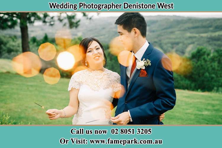 Photo of the Bride and the Groom at the yard Denistone West NSW 2114