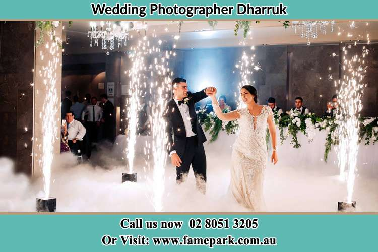 Photo of the Groom and the Bride dancing on the dance floor Dharruk NSW 2770