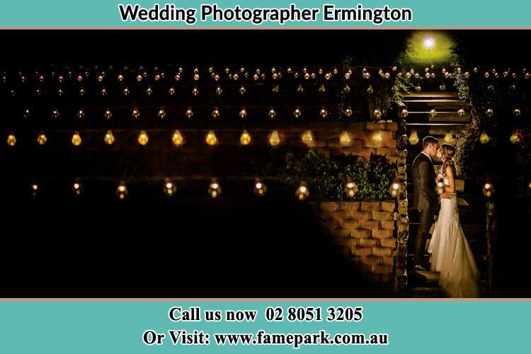 Photo of the Groom and the Bride kissing Ermington NSW 2115