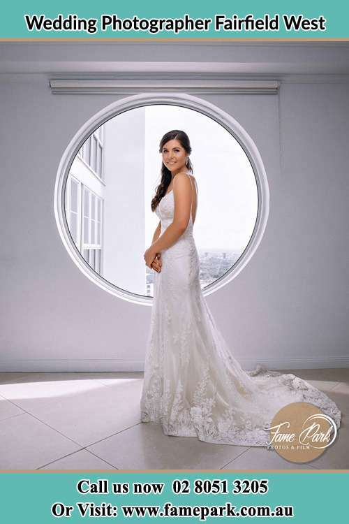 Photo of the Bride near the window Fairfield West NSW 2165
