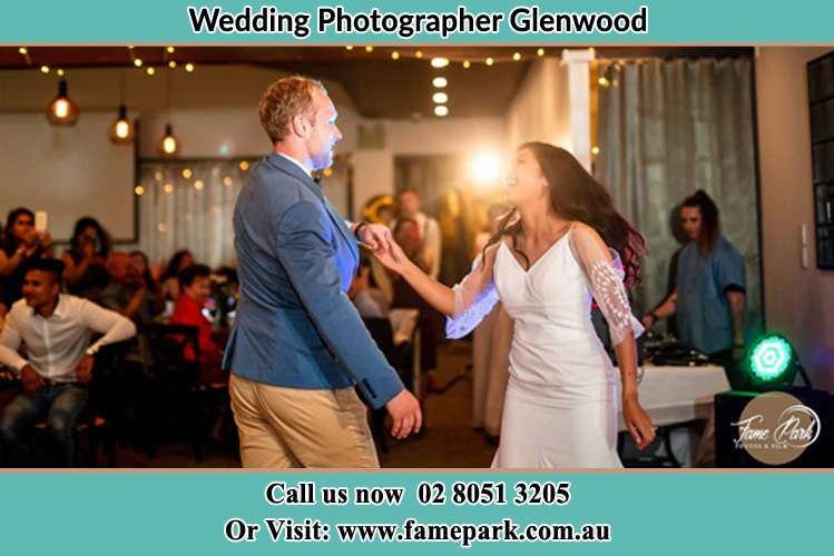 Photo of the Groom and the Bride dancing Glenwood NSW 2768