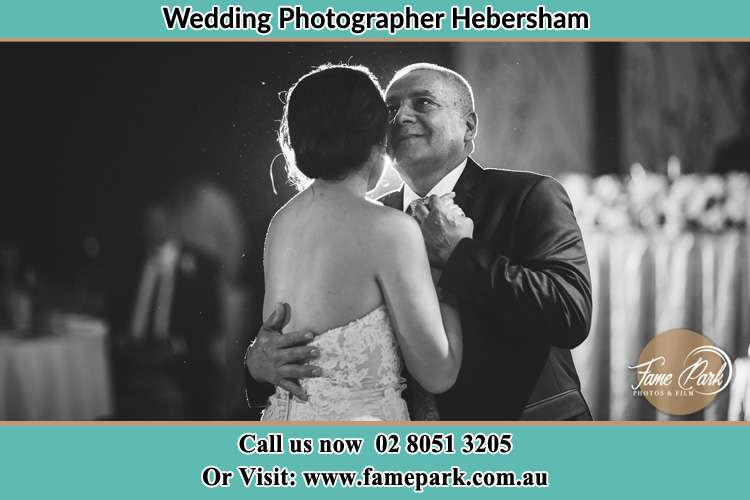 Photo of the Bride dancing with her father Hebersham NSW 2770