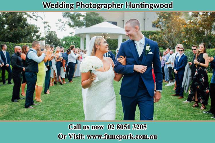 Photo of the Groom and the Bride looking each other Huntingwood NSW 2148