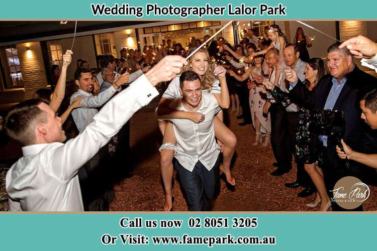 Photo of the Bride horse back ridding to the Groom Lalor Park NSW 2147