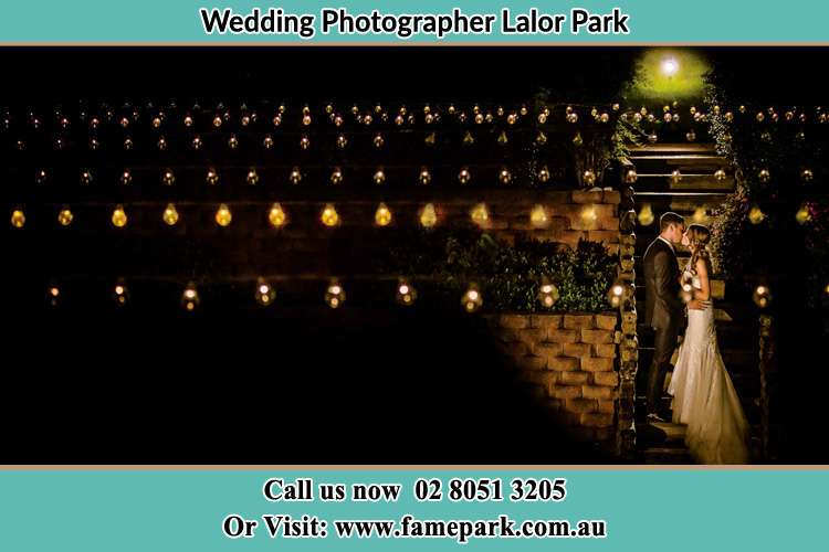 Photo of the Groom and the Bride kissing Lalor Park NSW 2147