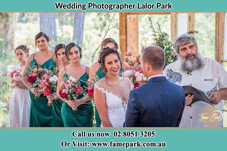 Photo of the Bride and the Groom at the matrimony Lalor Park NSW 2147