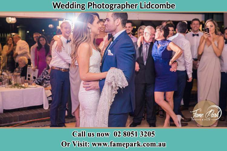 Photo of the Bride and the Groom dancing Lidcombe NSW 2141