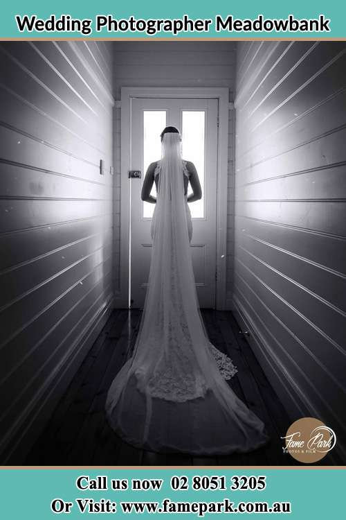 Photo of the Bride going out the door Meadowbank NSW 2114