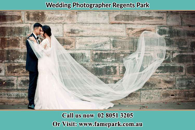 Photo of the Groom and the Bride dancing Regents Park NSW 2143