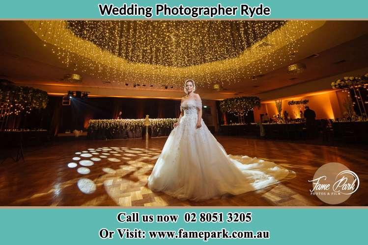 Photo of the Bride on the dance floor Ryde NSW 2112
