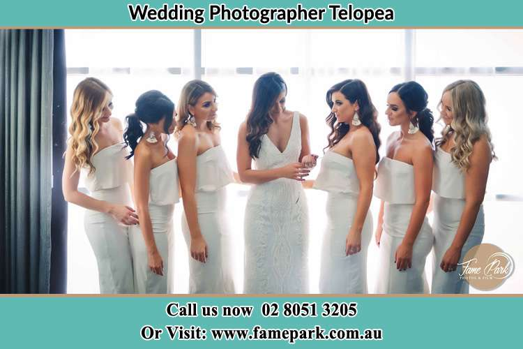 Photo of the Bride and the bridesmaids Telopea NSW 2117