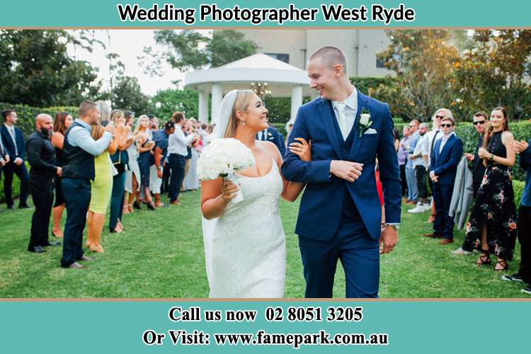 Photo of the Groom and the Bride looking each other West Ryde NSW 2114