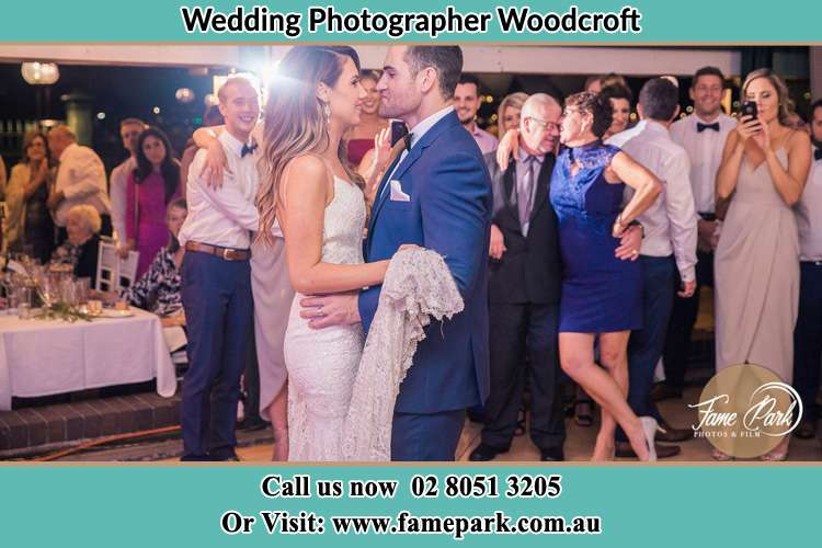 Photo of the Bride and the Groom dancing Woodcroft NSW 2767